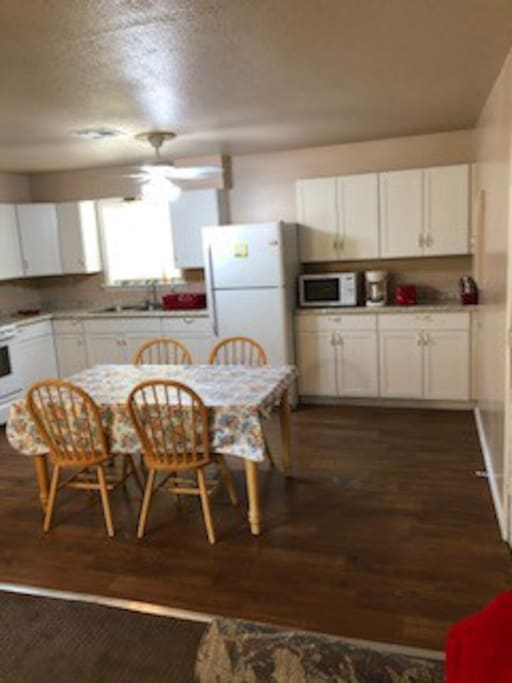 New Kitchen with all the amenities