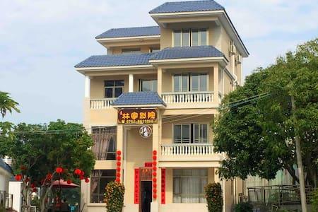 罗浮山景区独栋别墅林家别院9房四厅包场(100米至景区)