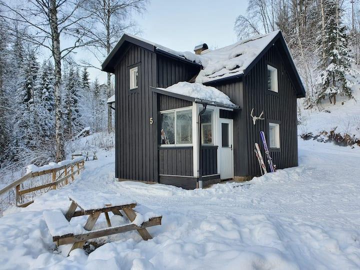 Branäs - Bo i naturen nära skidbacken