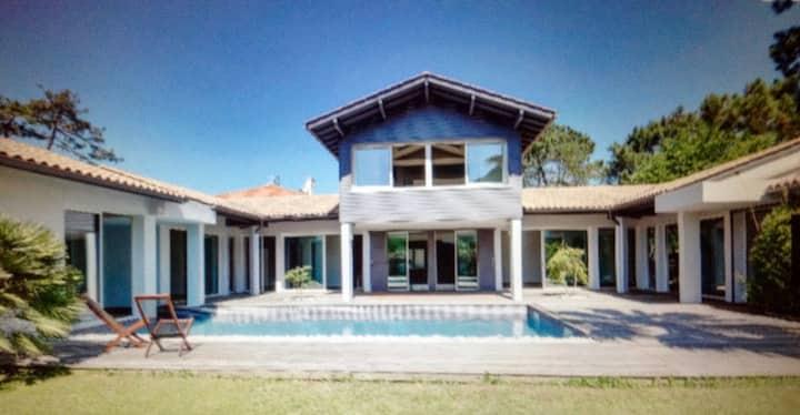 Villa de charme Anglet Chiberta 400m de l'océan