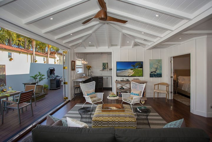 The Cottage at West Beach - Coastal Designer Style in the Heart of Santa Barbara