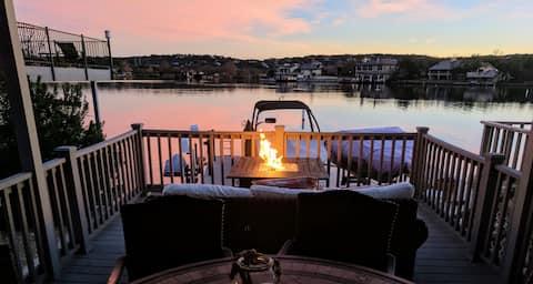 Island Drive Retreat-Pool-Boat-Jet Ski Slips-Deck