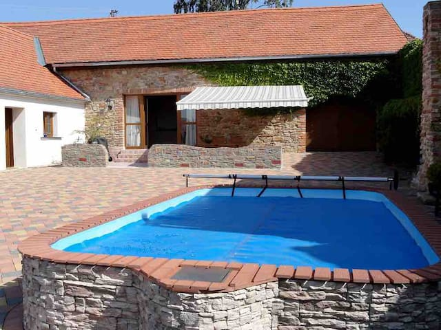 Holiday House with Swimming Pool  - Boskovstejn