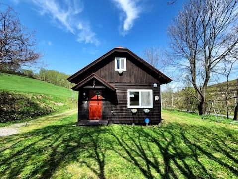 農場の休暇の家 in BIEI
