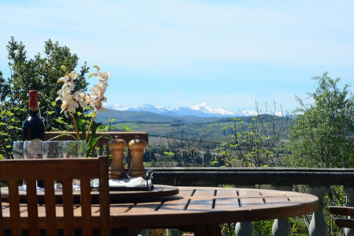 Stunning views from quiet country house! - Pauligne