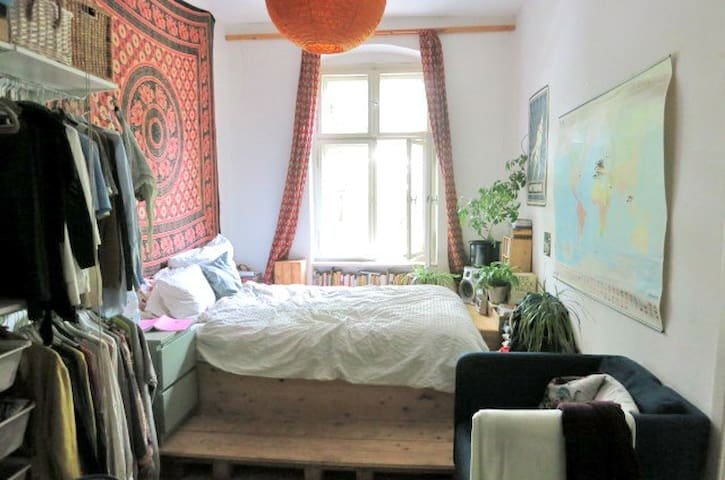 Living in the squat in Friedrichshain