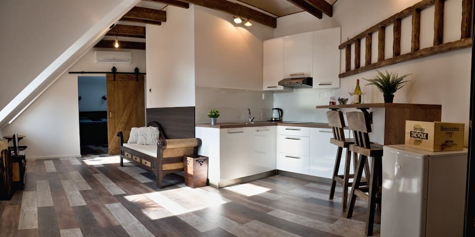 Zvolen , apartmán Vulcano v historickom objekte