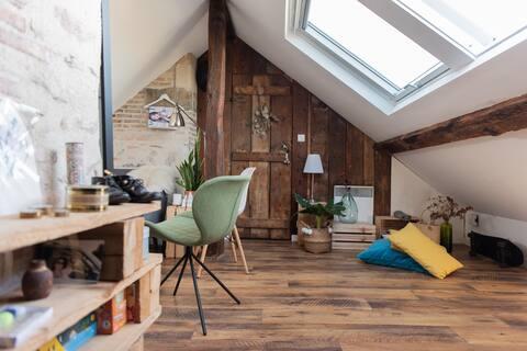 Appartement de caractère, Centre - île de Nantes