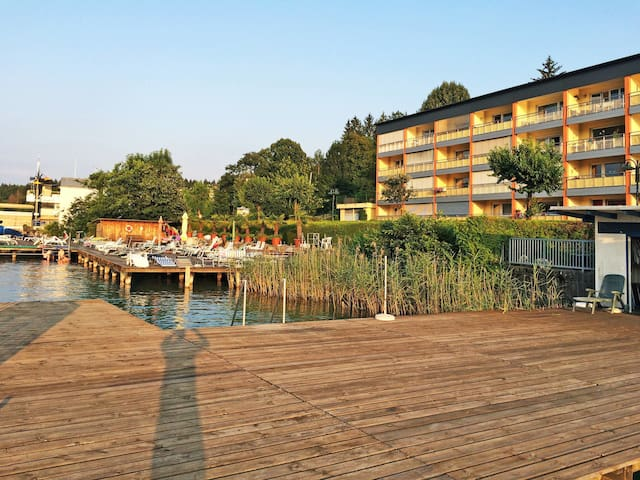 Lovely holiday apartment directly on the Wörthersee