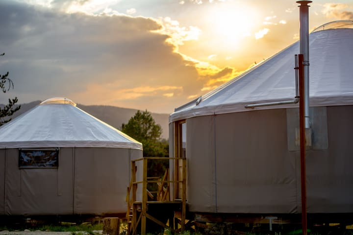 Riverbend Landing Yurt