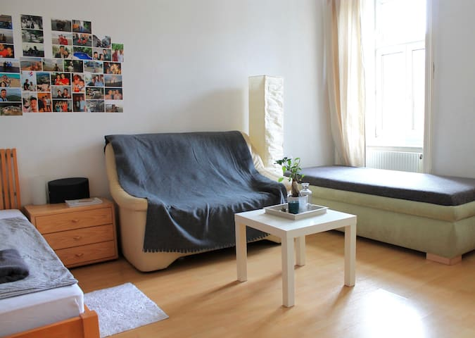Kingsize room in central Vienna