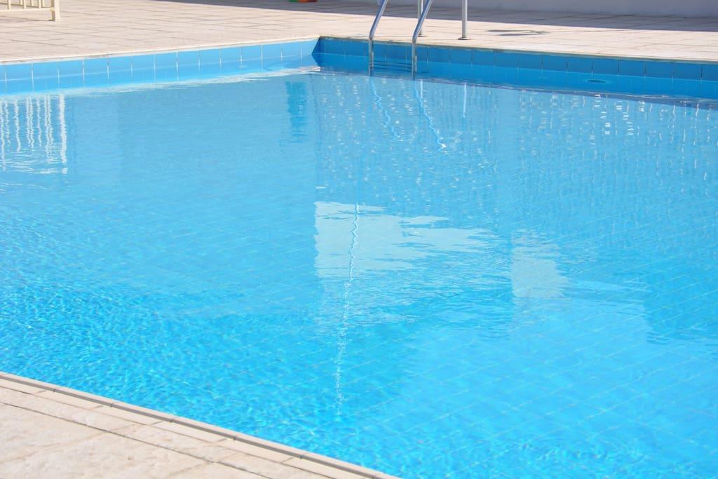 My pool.