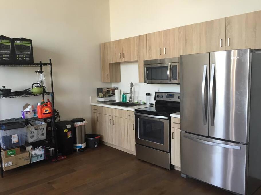 Brand new kitchen appliences
