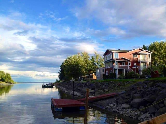 Chalet du Lac St-Pierre, Kayaks - Pêche blanche!!!
