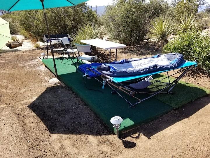 CoolCar Camping @ Pinyon  Breezes Star Camp