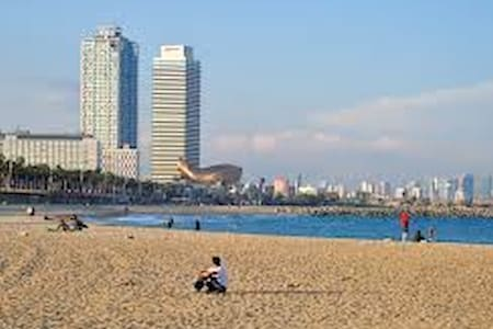 Flat Barceloneta near to the beach - Barcelona - Apartment