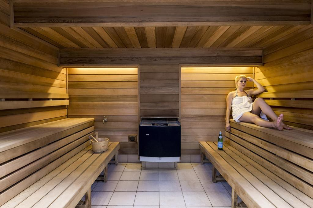 Sauna is offer free for all guests checking in.