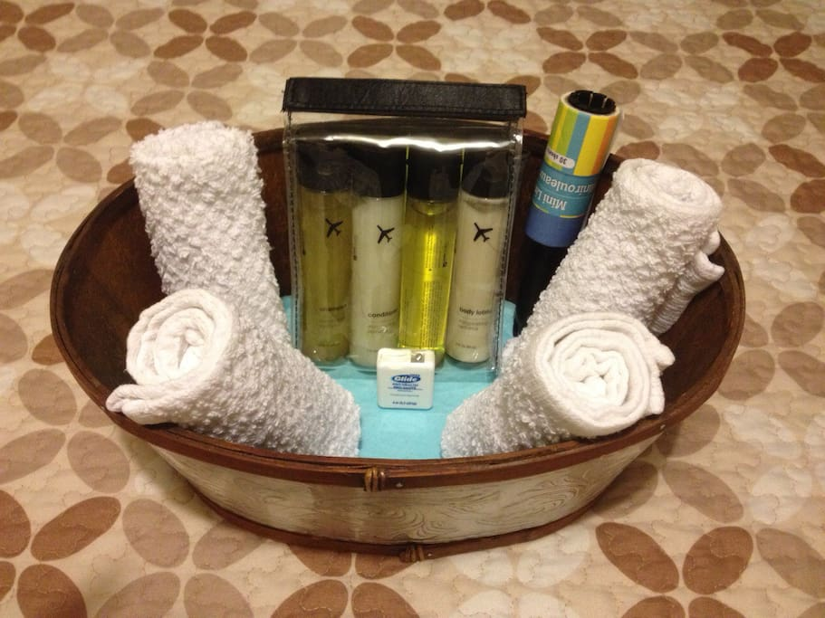 Your Complimentary Toiletries