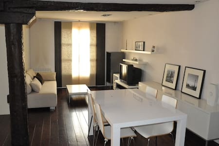 Cosy and modern loft in Logroño downtown core - Logroño - Apartment