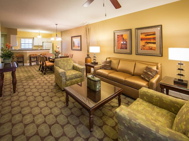Social areas with all included amenities