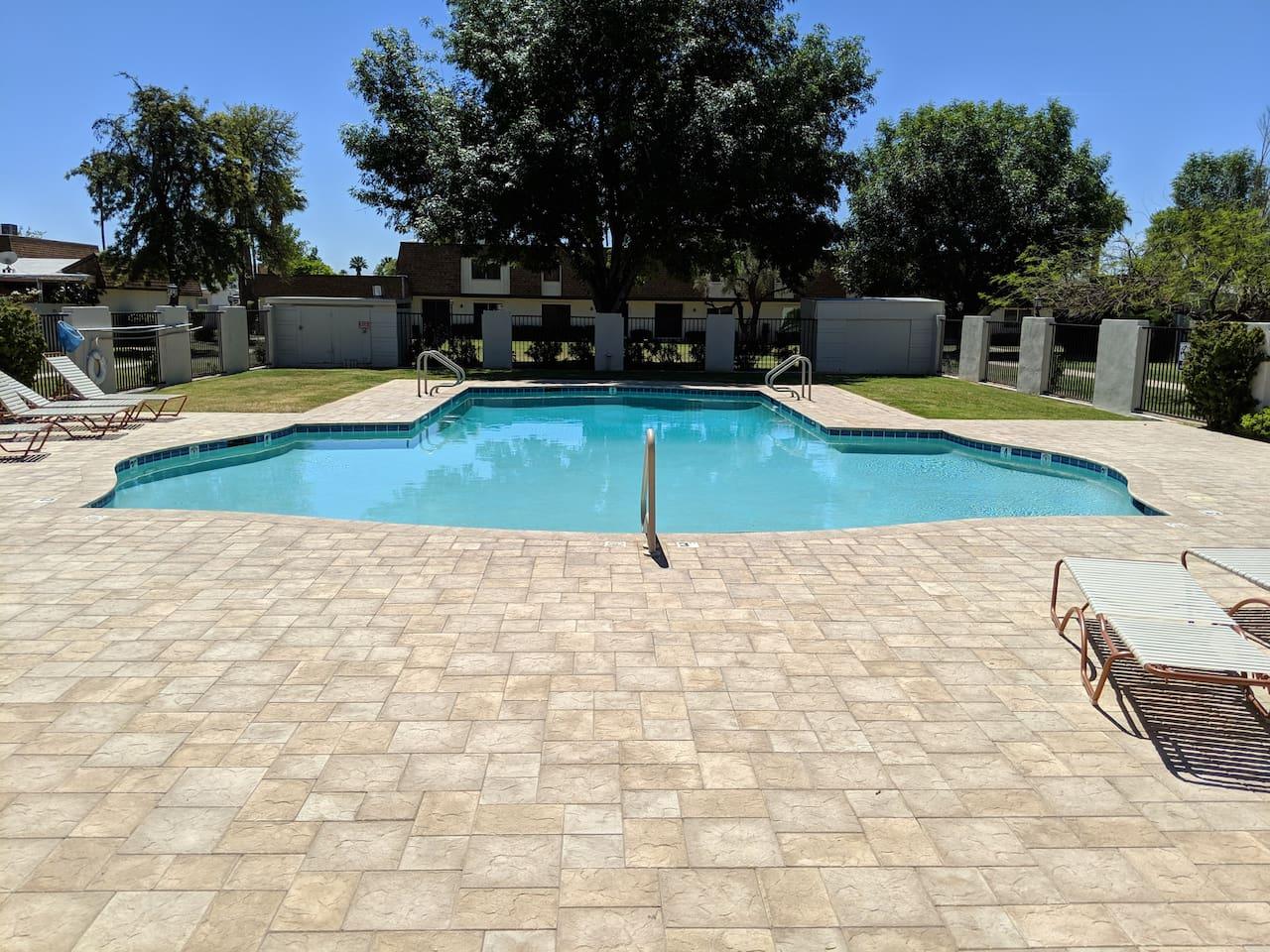 Pool - common area
