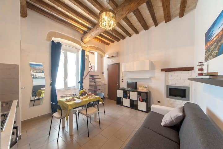 Apartment with one bedroom in Trani, with wonderful city view and WiFi