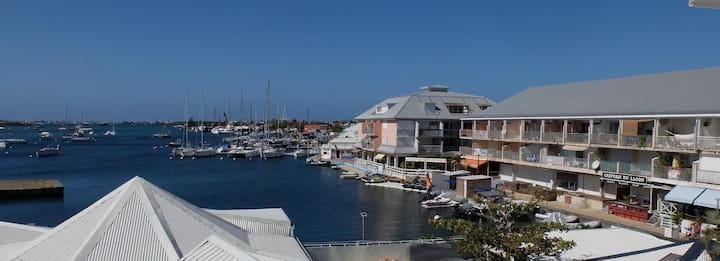 Charming apartment, Marina Royale, Marigot
