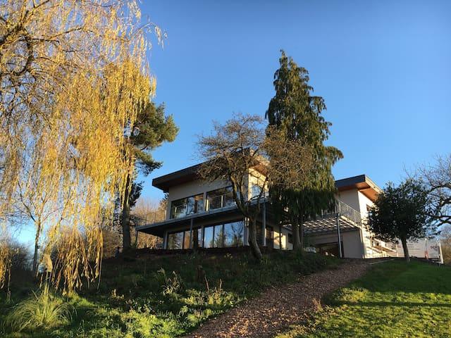 HAAGALM (FW1) mit Terrasse, Garten, Panorama