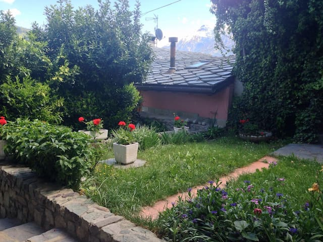 Lovely apartment with beautiful garden!