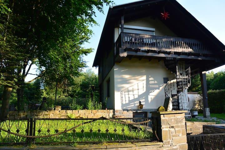 Waldhaus im Vogtland