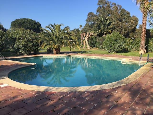 A louer Villa dans parc résidentiel et calme