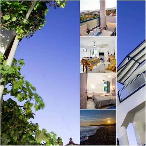 Villa Vassos Apartments, Vatera, Lesvos