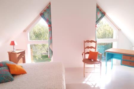 Chambre au calme, au vert, à deux pas de Rennes