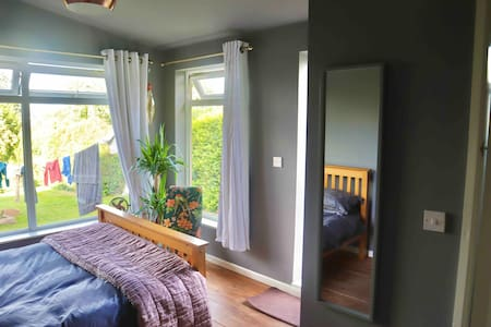 Ensuite detached living space with fantastic views