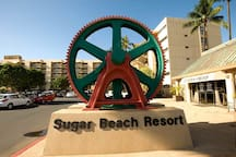 Free parking at Sugar Beach Resort.