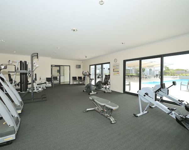Gymnasium available for your use !!