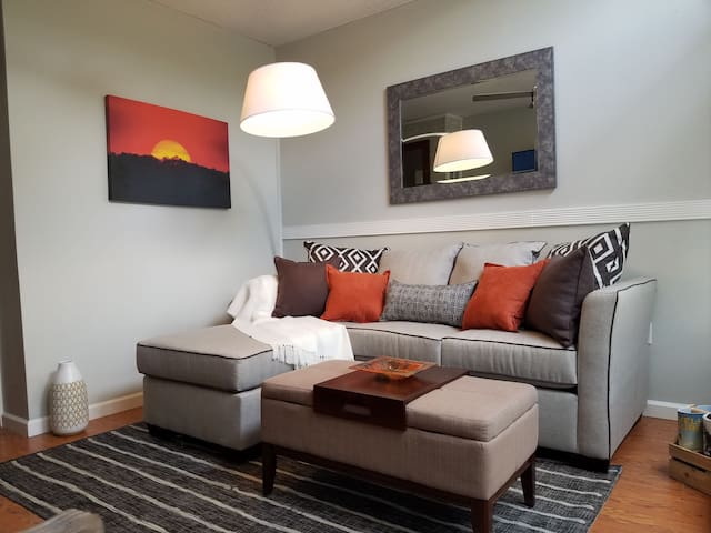 Historic District Apartment with Modern Amenities