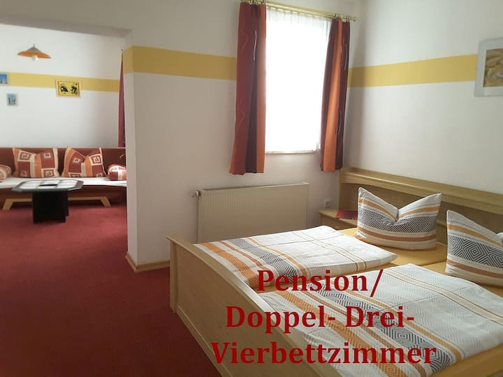 Adam's Pension und Ferienwohnungen (Mühlhausen) - LOH05494, Doppelzimmer mit Dusche und WC