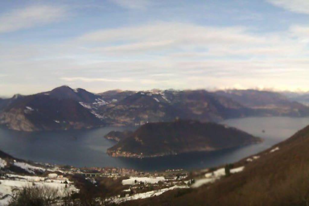 Lago d'Iseo ... Protagonista di Christò event