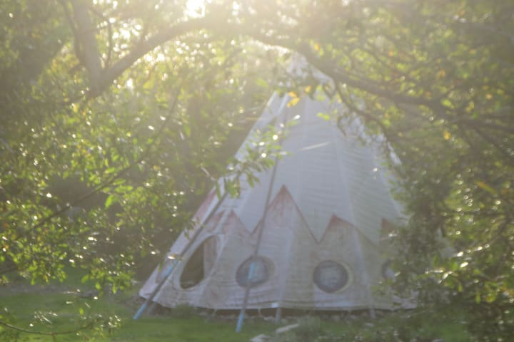 20' Moon and Stars Tipi