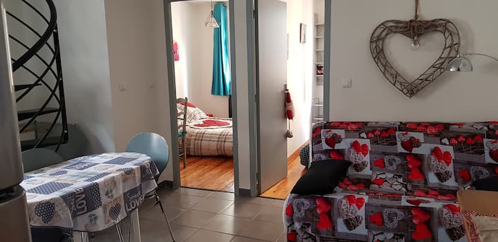 3-room apartment Saint Etienne de Tinée