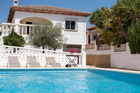 La Nucia villa with private pool and 3 bedrooms