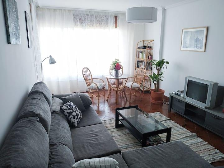 Apartamento luminoso con vistas al mar en Burela