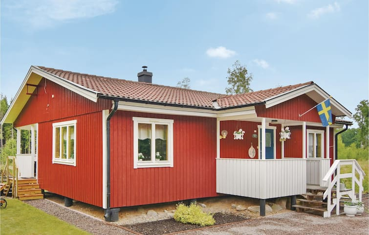 Holiday cottage with 2 bedrooms on 78m² in Älgarås