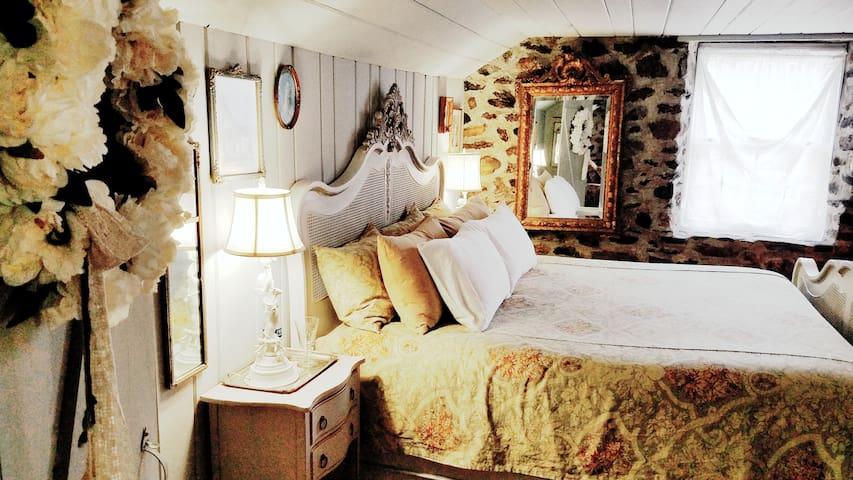 Old World Master Bedroom