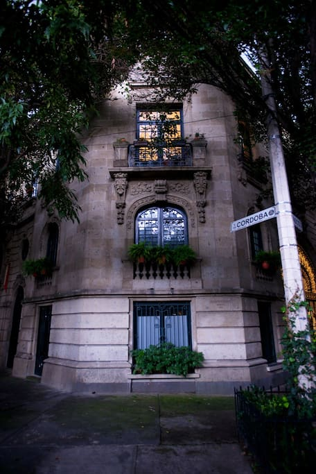 French Style Building (apt faces Tabasco Street) This is corner view of the building that has 11 apartments