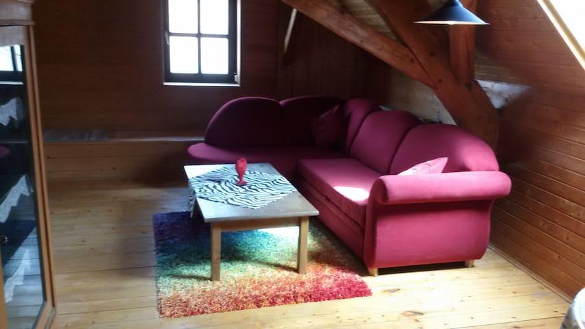 Gemütliche Dachwohnung - Wolnzach - Wohnung