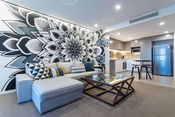 Unique, Luxe, Urban Apartment. Brisbane's Finest.