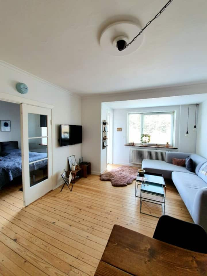Cozy 3-room apartment in the heart of Lyngby