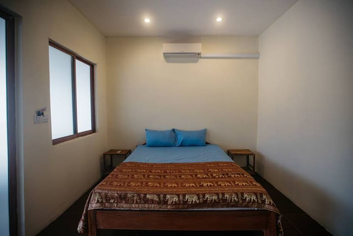 Air condition room on Otres beach